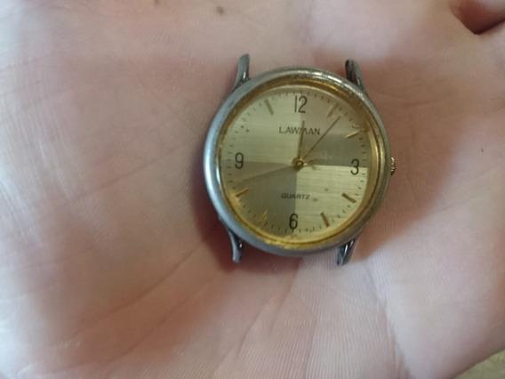 Relógio De Pulso Quartz Lawman Antigo 1498