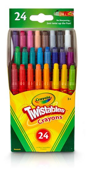 Crayones Mini Twistables Crayola X24