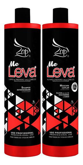 Kit Progressiva Me Leva Zap Profissional 2x1000ml