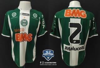 Camisa Coritiba Oficial I Lotto 2011 #2 Jonas Usada Final Cb