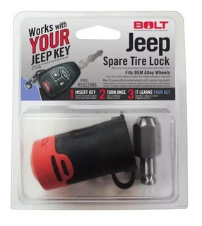 Candado Bolt Para Llanta De Refaccion De Jeep