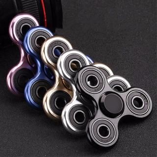 Fidget Hand Spinner Metal Aluminio Anti Estres Envio Gratis