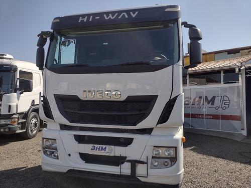 Imagem 1 de 14 de Caminhão Cavalo Truck Stralis 480 Completo Impecável Lindo