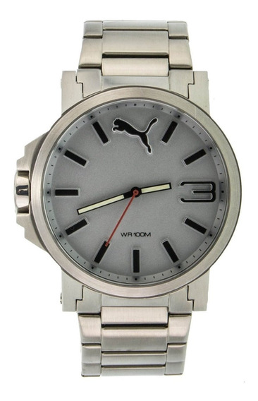 Reloj Analogico Para Hombre Puma Ultrasize Acero Inoxidbale