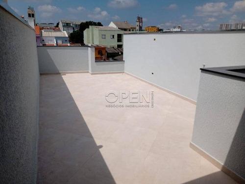 Imagem 1 de 11 de Cobertura Com 2 Dormitórios À Venda, 104 M² Por R$ 400.000,00 - Parque Das Nações - Santo André/sp - Co2591