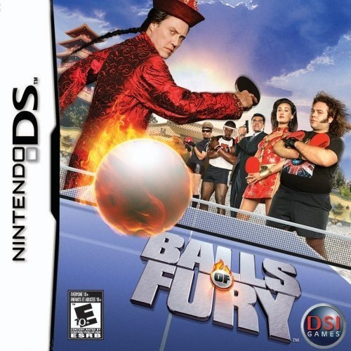 Imagen 1 de 4 de Juego Nintendo Ds Balls Of Fury Ping Pong Nuevo Orig. Replay
