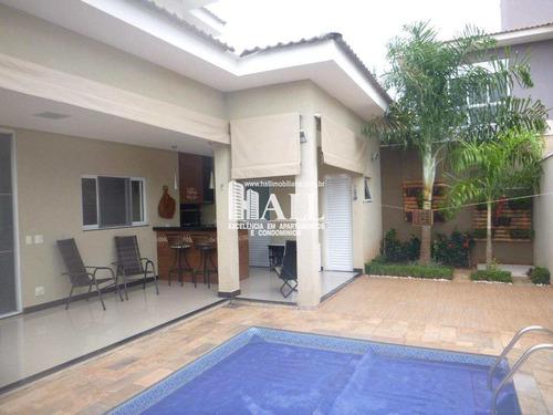 Casa De Condomínio Com 4 Dorms, Residencial Village Damha Rio Preto Ii, São José Do Rio Preto - R$ 848.000,00, 312m² - Codigo: 3876 - V3876