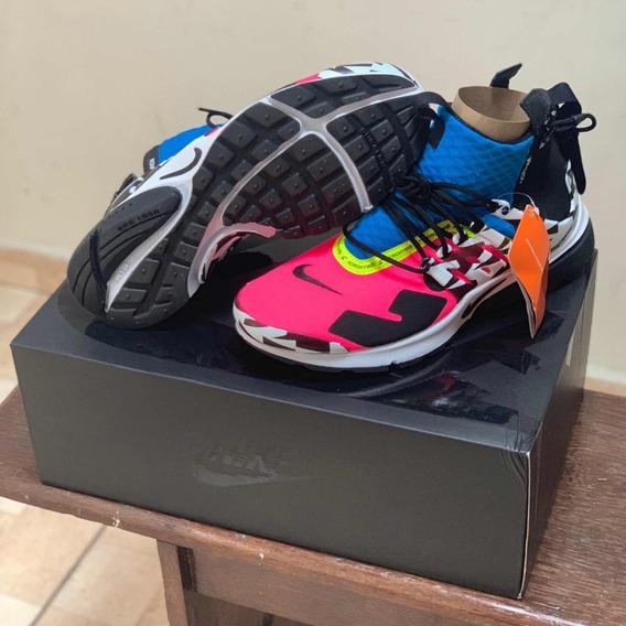 Nike Presto Mid Acronym racer Pink