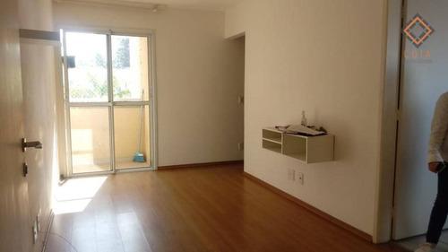 Apartamento Com 2 Dormitórios À Venda, 52 M² Por R$ 288.000,00 - Vila Andrade - São Paulo/sp - Ap52569