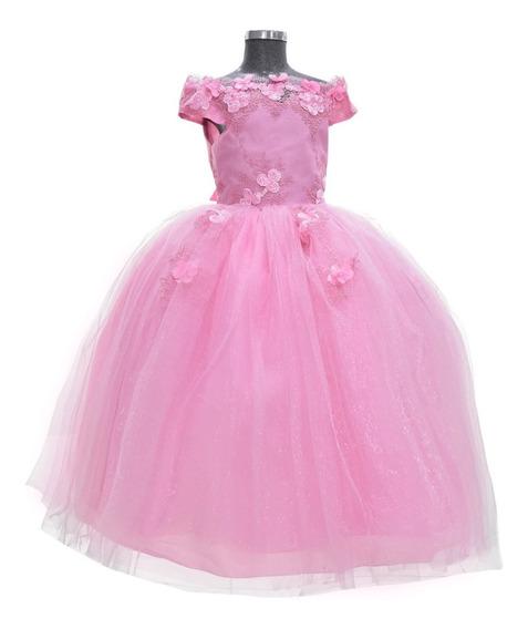 Vestido De Niña Elegante, Hermoso Modelo Alexa