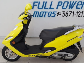 Suzuki Burgman I 125 Amarela 2012