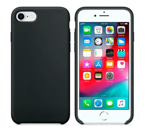Estuche Silicona Para Apple iPhone SE 2020 Protector Case