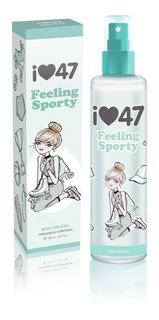 47 Street Feeling Sporty X 150ml Body Splash - Tester Promo