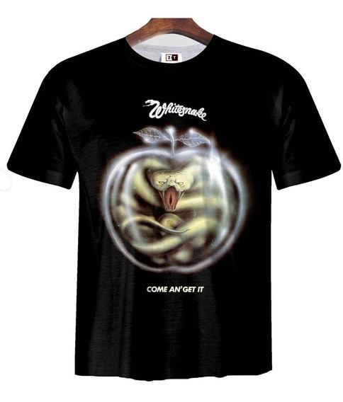 Remera Zt-0268 - Whitesnake Come On Get It