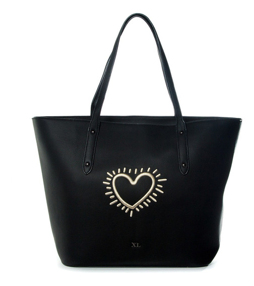 Blossom Tote Negro Xl Extra Large Mujer