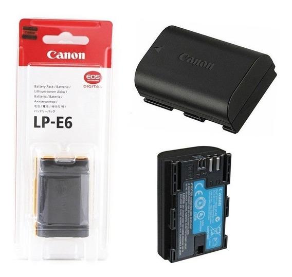 Bateria Canon Lp-e6 Canon P/ 60d 70d 6d 7d E 5d Iii