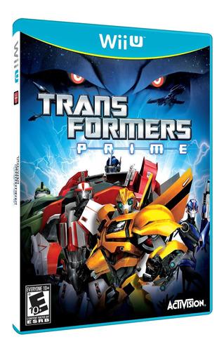 Transformers Prime: El Juego - Nintendo Wii U