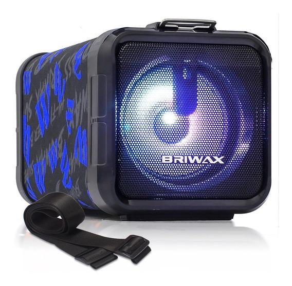 Caixa Som Amplificada Bazooka 30w Bateria Bluetooth Celular