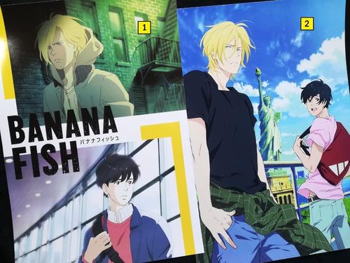 Posters A3 29x42cm Anime Banana Fish #1 / Niponmania