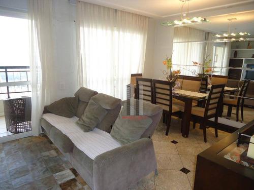 Apartamento Com 3 Dormitórios À Venda, 105 M² Por R$ 830.000 - Parque Da Mooca - São Paulo/sp - Ap2722