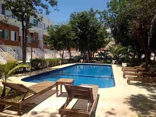 Se Vende Hermoso Townhouse Amueblado Punta Estrella Playa Del Carmen P2833