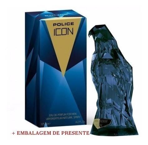 Perfume Police Icon Edp 125ml Original Lacrado + Brinde