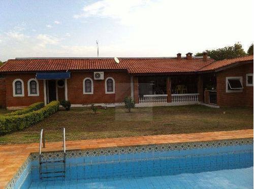Chácara Com 2 Dormitórios À Venda, 1000 M² Por R$ 695.000,00 - Vale Do Sol - Indaiatuba/sp - Ch0007
