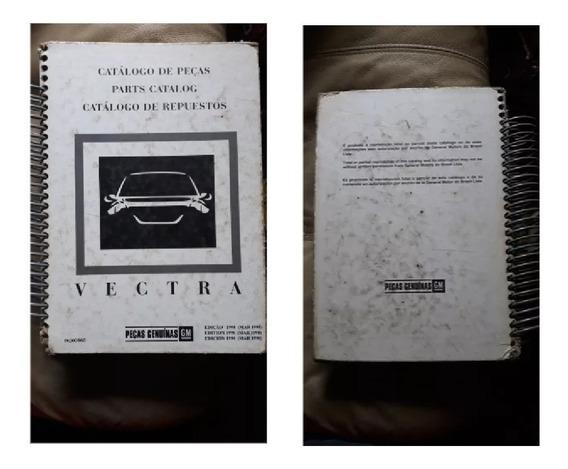 Catalogo De Pecas E Acessórios Vectra Edição 1998
