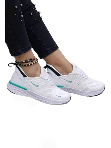 zapatos nike mujer blancas