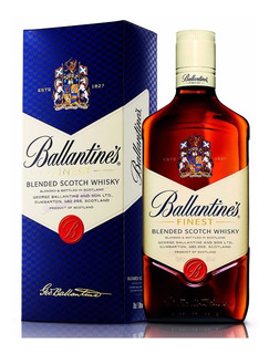 Whisky Ballantines C/estuche Envio Gratis Caba Oferta