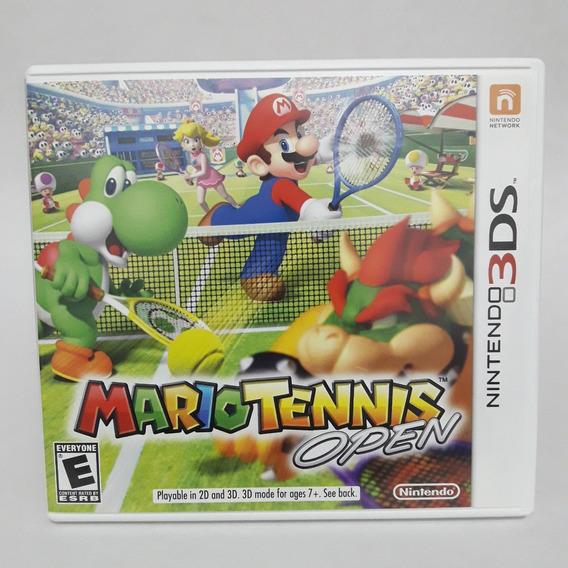 Mario Tennis Open Nintendo 3ds Midia Fisica Game Jogo 2ds
