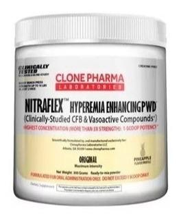 Nitraflex 300g Abacaxi - Clone Pharma - Pré Treino