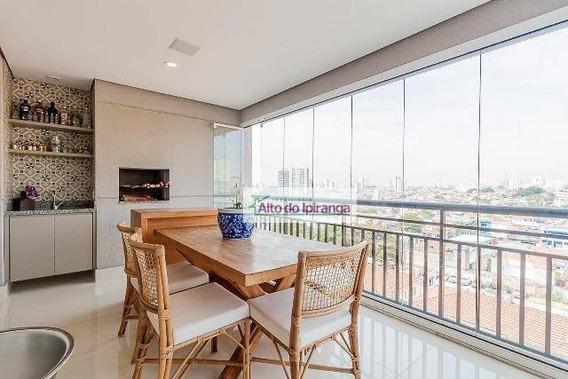 Apartamento Com 3 Dormitórios À Venda, 94 M² Por R$ 1.250.000 - Ipiranga - São Paulo/sp - Ap4617