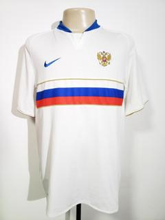 Camisa Futebol Oficial Seleção Rússia 2008 Home Nike G