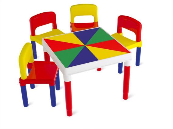 Mesa Mesinha Infantil Criança Atividades Turminha Bell Toy