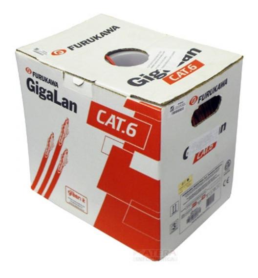 Caixa De Cabo De Rede Cat6 Furukawa Gigalan Original Nova