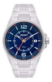 Relógio Orient Masculino Mbss1314 Aço Prata C/ Nota Fiscal