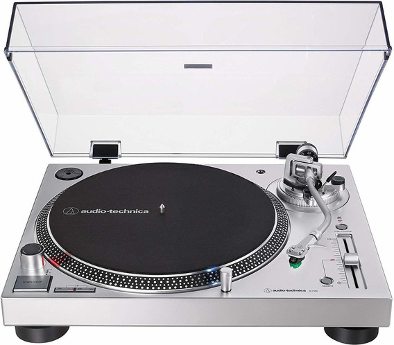 Toca Discos Audio Technica Lp120x Usb Analógico 120v Prata At-lp120xusb-sv Nota Fiscal