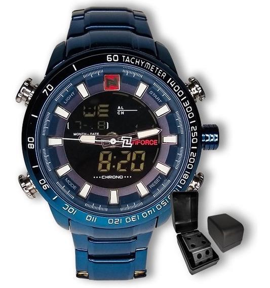 Relógio Masculino Naviforce 9093 Importado Militar + Brinde