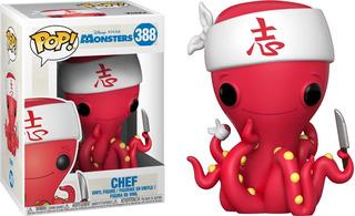 Funko Pop Chef De Sushi Monsters Inc 388