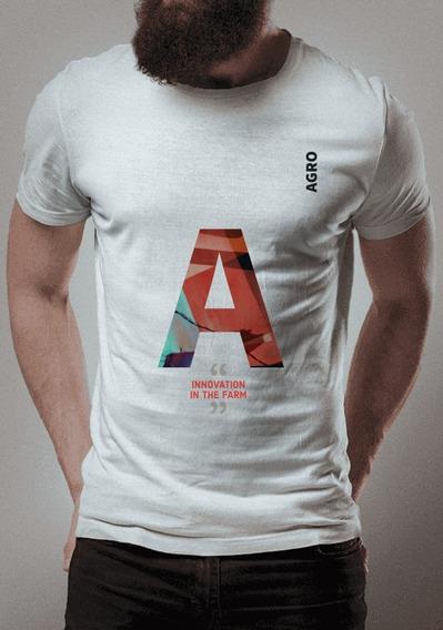 Camiseta Para Fãs Do Agro - Inovação Na Fazenda