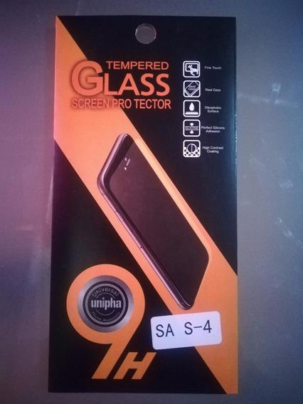 Mica Protectora Vidrio Templado Smartphone Samsung Galaxy S4