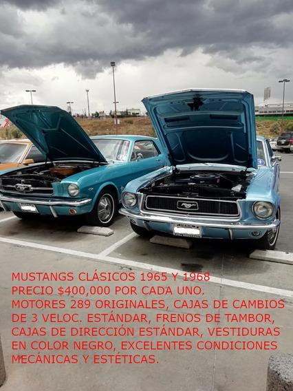 Mustangs Clásicos 1965 Y 1968 Originales