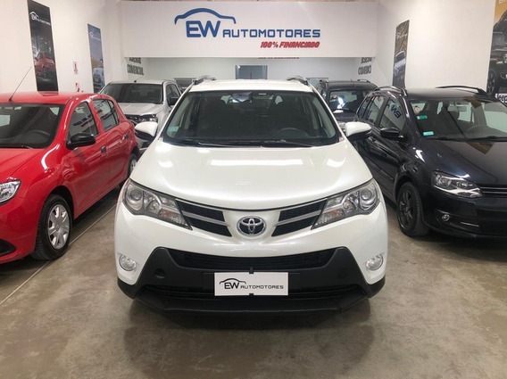 Toyota Rav4 4x2 Tx Cvt Blanco 100% Financiado