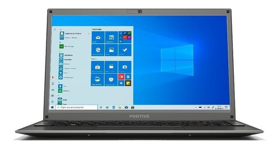 Not. Positivo Motion C4500d 4gbram 500gb Tela 14 Windows 10