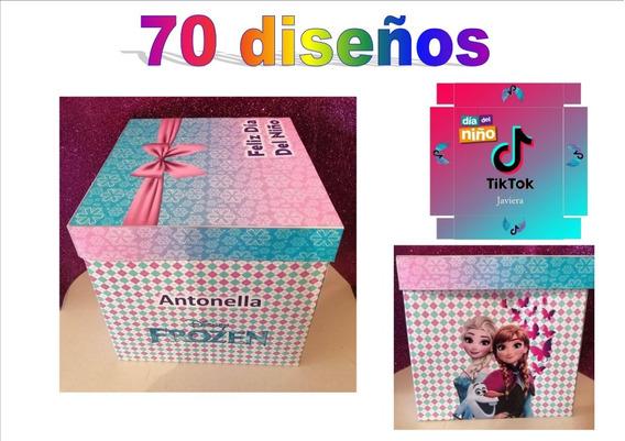 Kit Imprimible Dia Del Niño Infantiles Diseños P/ Cajas