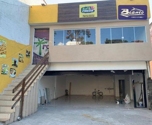 Imóvel Comercial Em Excelente Localização!! Jd. São João - Sl0142