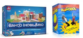 Brinquedos Meninas Pogobol Roxo + Banco Imobiliário Estrela