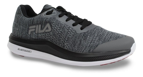 Fila Zapatilla Training Hombre Light Energized Gris - Negro