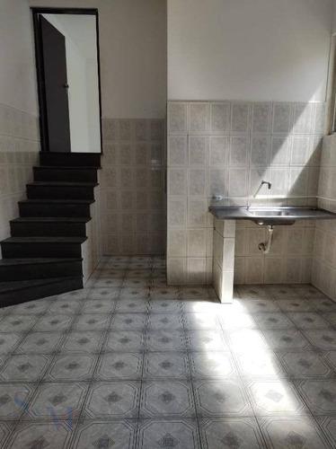Imagem 1 de 13 de Casa Com 1 Dormitório Para Alugar, 40 M² Por R$ 850,00/mês - Cidade São Jorge - Santo André/sp - Ca0056